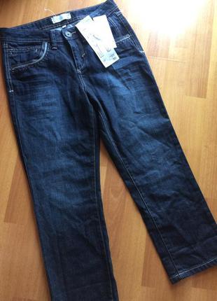 Новые укороченные джинсы, капри, бриджи