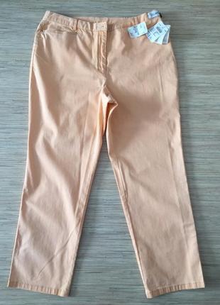 Новые (с этикеткой) джинсы красивого персикового цвета от delm...