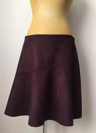 Новая (с этикеткой) молодежная юбка под замшу, большой размер ...