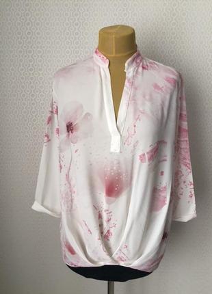 Красивый нарядный блузон производства италия большого размера ...