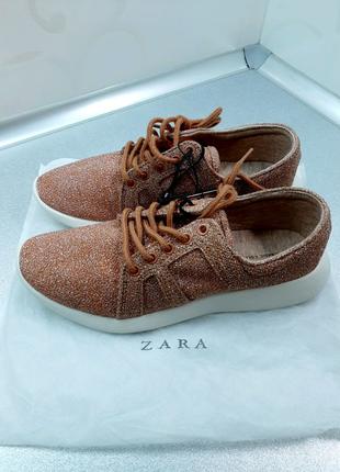 Новые ZARA кроссовки кеды слипоны