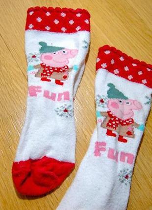 Шкарпетки з малюнками, з свинкою пепою, на дівчинку чи хлопчик...