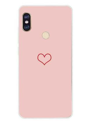 Чeхол на тeлeфон з сeрдeчком/сeрдцeм💟📱 xiaomi redmi note5/note...