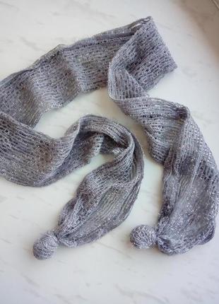 Стильний легкий шарфік, люрексова нитка / обмін чи продаж