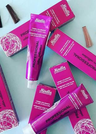 Стойкая итальянская 🇮🇹 профессиональная краска для волос mirel...