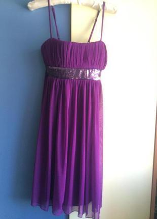 Платье новое коктейльное, размер 34-36