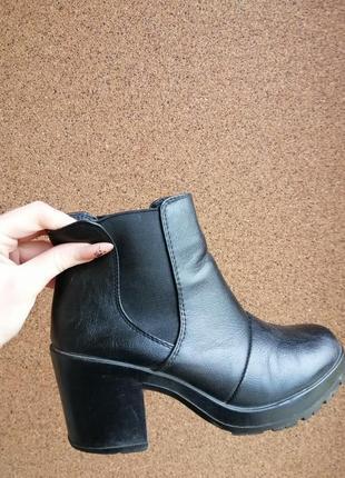 Брендові чоботи lilley черевики шкіряні демісезонні сапоги кож...