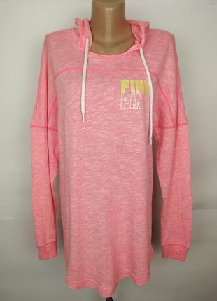Кофта спортивная розовая стильная оригинал victoria's secret p...