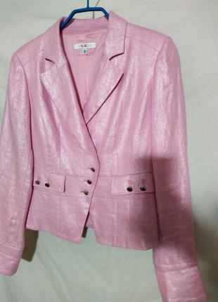 Пиджак жакет льняной 100% лен versace оригинал новый