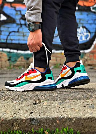 Nike air max 270 react 🔺мужские кроссовки найк еир макс