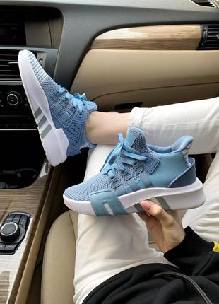 Кроссовки женские   adidas equipment bask adv blue