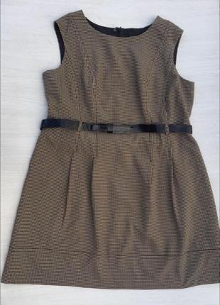 Актуальное стильное весеннее платье большого размера marks&spe...