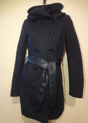 Пальто с капюшоном only размер s