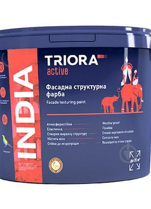 Краска структурная фасадная акриловая TRIORA (15 кг)