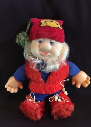 Кукла немецкая Гном ГДР Германия игрушка