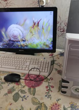 ПК (в сборе) Amd Fx-6100 + MSI GTX 1060 + монитор