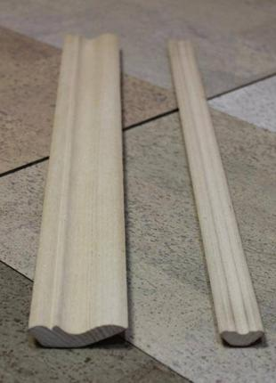 Плінтус дерев'яний в асортименті: дуб, бук, ясень. ГУРТОВІ ЦІНИ !