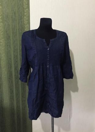 Рубашка /туника джинсовая