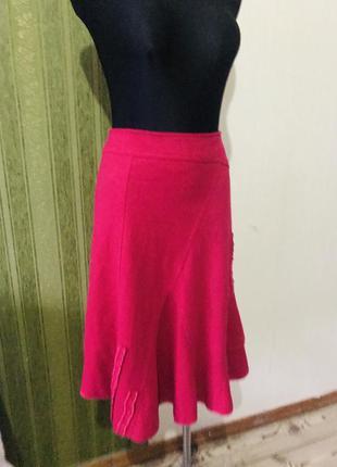 Винтажная теплая юбка франция