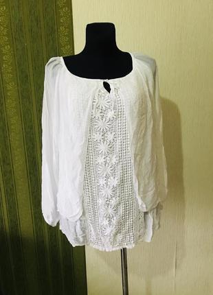 Красивая блузка в стиле бохо