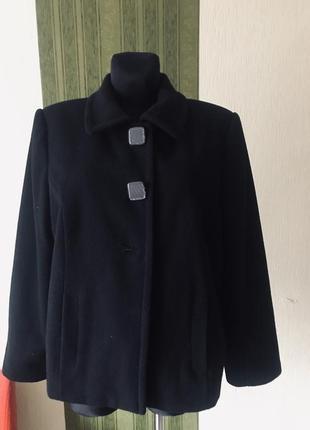 Кашемировая куртка большого размера