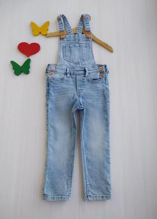2-3 года комбинезон джинсовый denim co