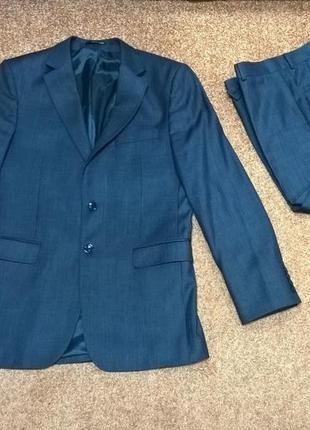 Мужской костюм patrick figaro серого цвета