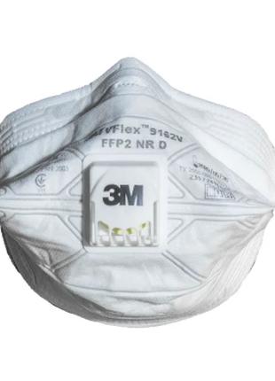 Респиратор маска 3M™ 9162 с клапаном выдоха (упаковкой)