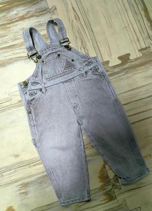 Качественный джинсовый комбинезон
