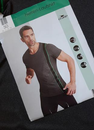 Мужская спортивная футболка  cranе