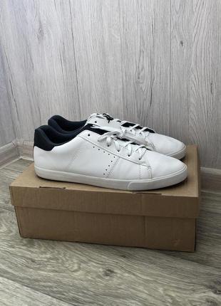 Белые кожаные кроссовки h&m !
