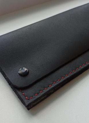 Шкіряний гаманець ручної роботи!