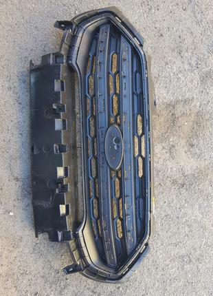 Решётка бампера ford ecosport рестайлинг