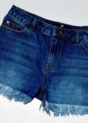 By very. классные джинсовые шорты с бахромой. 12 лет. рост 152...
