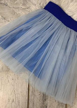 Красивые юбочки для девочек из фатина