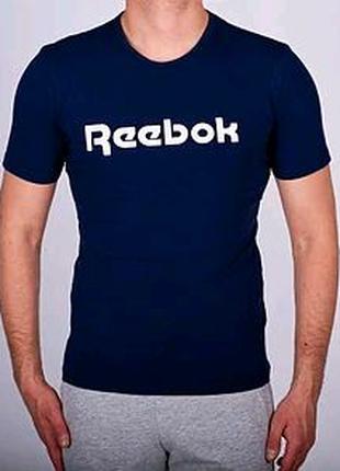 Мужская футболка Reebok, мужская футболка Рибок, спортивная