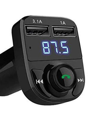 Автомобильный Fm Модулятор Bluetooth авто USB трансмиттер фм б...