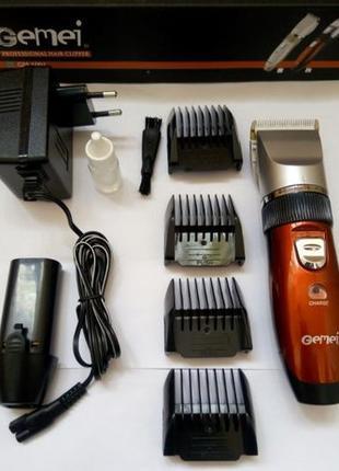 Беспроводная машинка для стрижки волос, бритья триммер аккумул...
