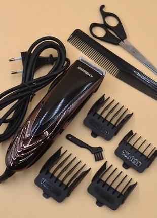 Проводная профессиональная машинка для стрижки волос триммер м...