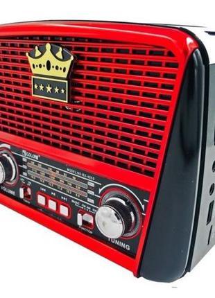 ФОНАРЬ Радиоприемник колонка на аккумуляторе с солнечной панел...