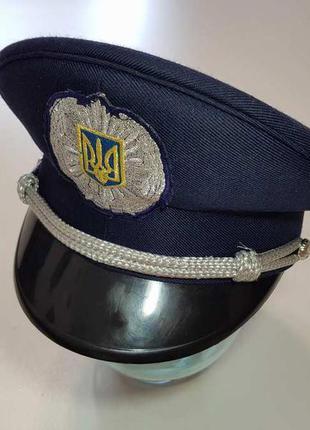 Фуражка полицейского украины, сост. отличное!