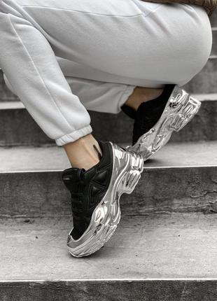 Adidas ozweego raf simons black женские кроссовки