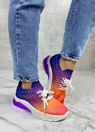 Кроссовки женские разноцветные, удобные кроссовки, кеды женски...