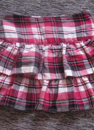 Супер классная школьная юбочка children place на 6 лет