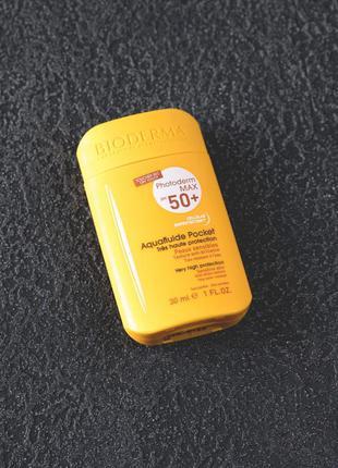 Солнцезащитный крем bioderma photoderm max spf 50+ aquafluide ...