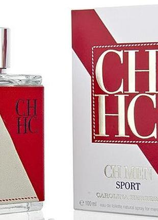 Carolina herrera ch men sport edt 100ml (original)
