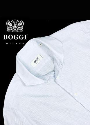 Рубашка boggi milano tailored fit
