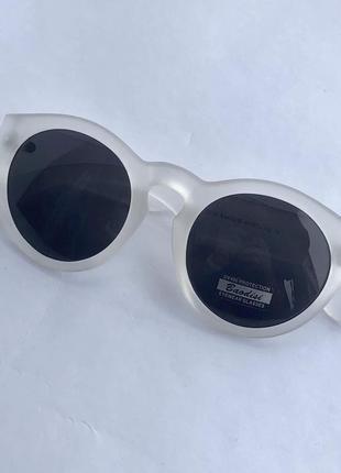 Прозрачные солнцезащитные очки uv400 !