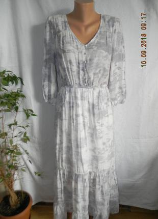 Красивое натуральное платье forever 21