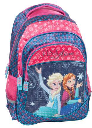 Школьный рюкзак Frozen Anna and Elsa Paso DRF-181